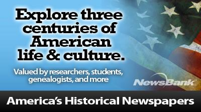 americas historical newspapers logo